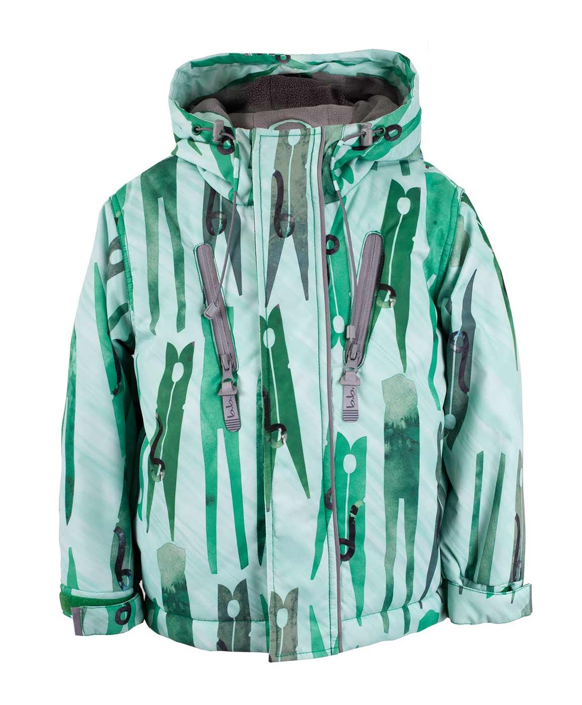 Купить 117BBBA41012813, Куртка Button Blue, BUTTON BLUE Active, зеленый, 134, Мужской, ОСЕНЬ/ЗИМА 2017-2018 (shop: GulliverMarket Gulliver Market)