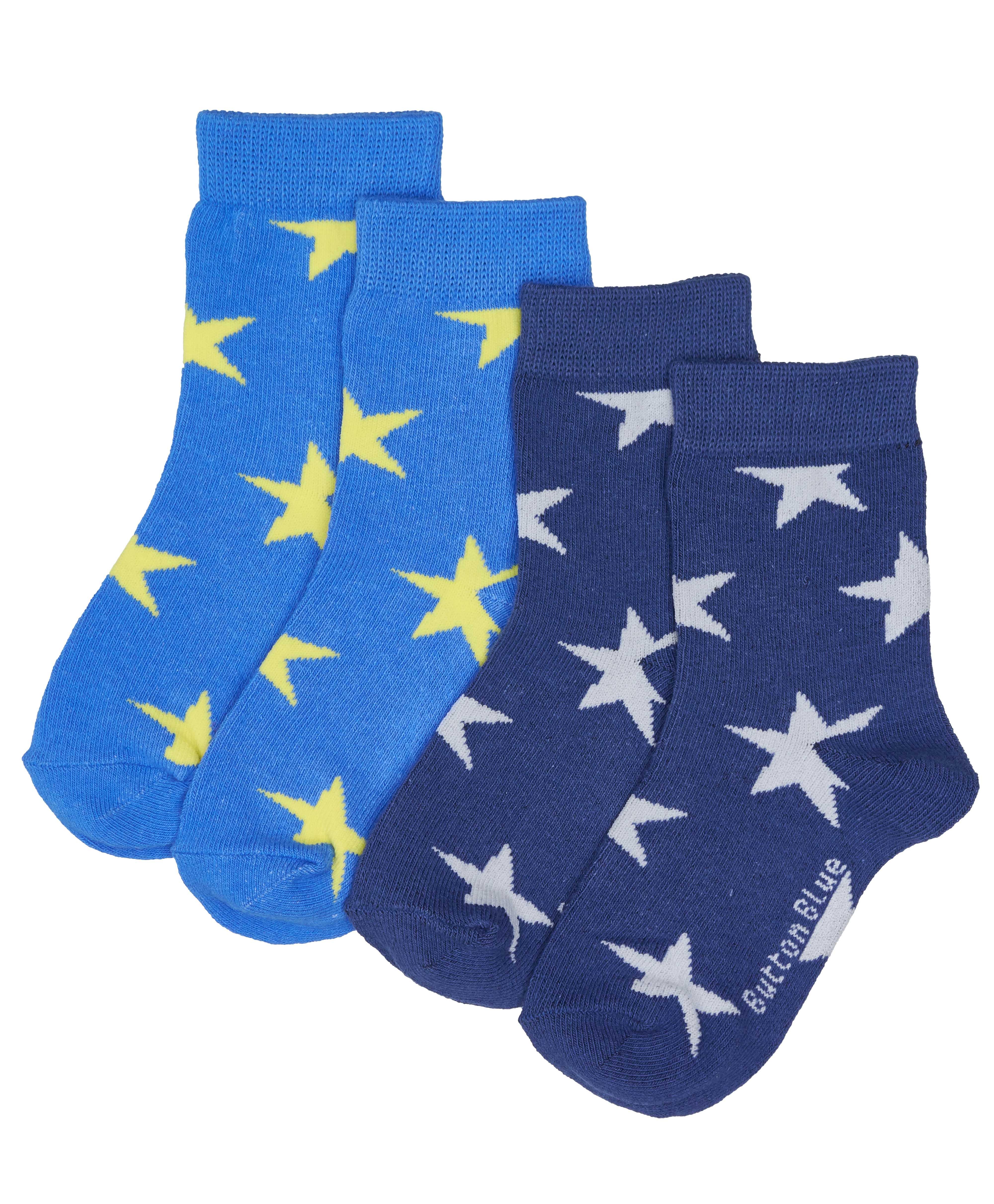 Купить 118BBBU85031001, Носки (комплект из 2 пар) Button Blue, темно-синий, 14-16, Мужской, ВЕСНА/ЛЕТО 2018 (shop: GulliverMarket Gulliver Market)