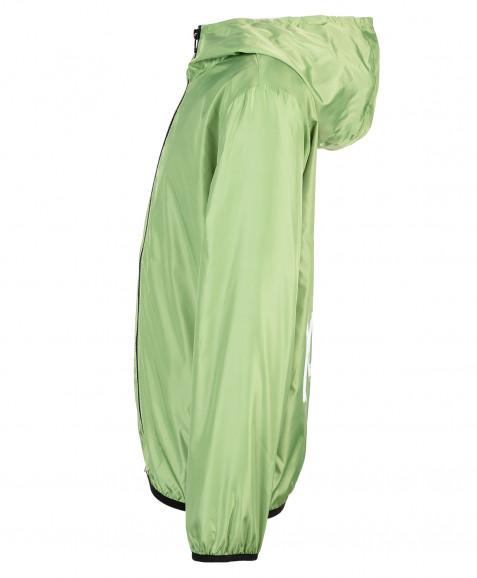 Зеленая ветровка Button Blue