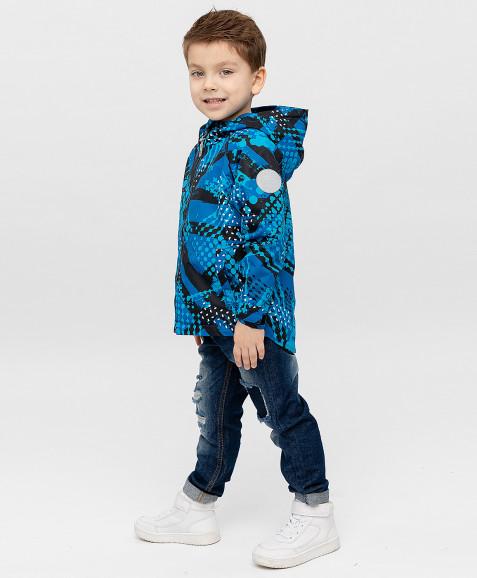 Ветровка Active для мальчика Button Blue