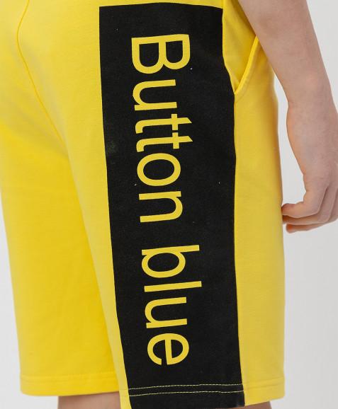 Желтые шорты Button Blue
