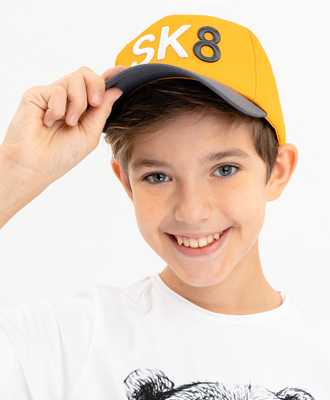 Купить 120BBBF71012700, Желтая бейсболка Button Blue, желтый, 50-52, Мужской, ВЕСНА/ЛЕТО 2020 (shop: GulliverMarket Gulliver Market)
