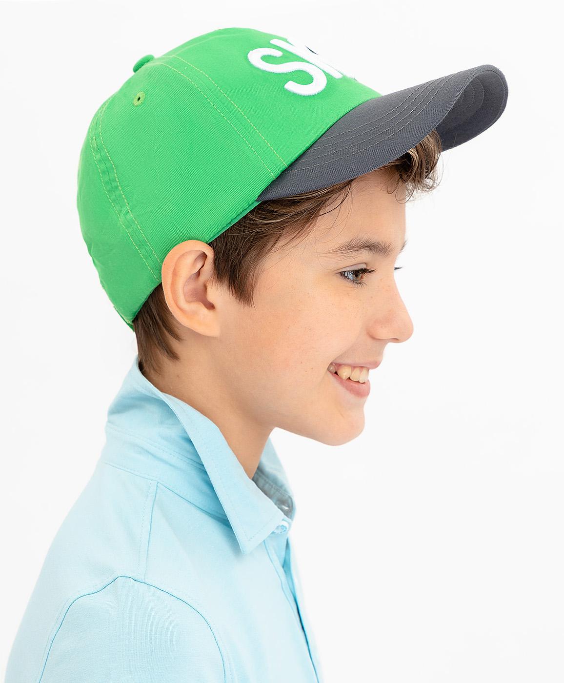 Купить 120BBBF71014800, Зеленая бейсболка Button Blue, зеленый, 50-52, Мужской, ВЕСНА/ЛЕТО 2020 (shop: GulliverMarket Gulliver Market)
