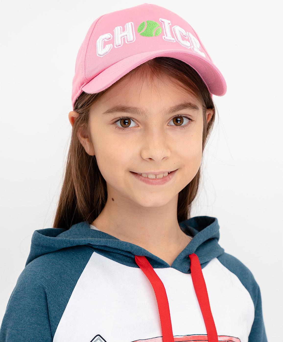 Купить 120BBGF71011200, Розовая бейсболка Button Blue, розовый, 50-52, Женский, ВЕСНА/ЛЕТО 2020 (shop: GulliverMarket Gulliver Market)
