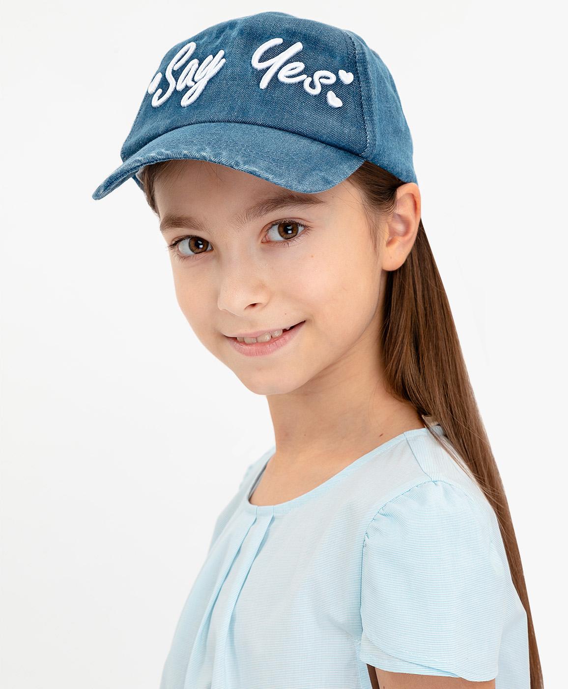 Купить 120BBGX7102D100, Синяя джинсовая кепка Button Blue, синий, 50-52, Женский, ВЕСНА/ЛЕТО 2020 (shop: GulliverMarket Gulliver Market)