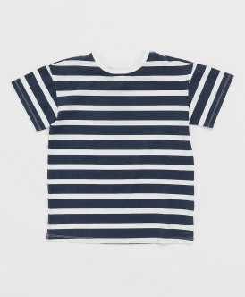 футболка button blue для мальчика, синяя