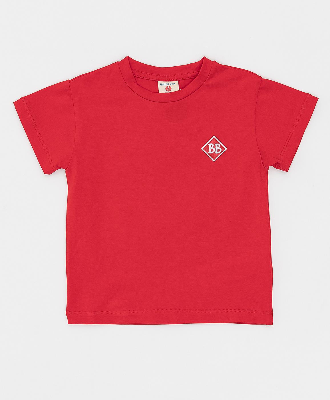 Купить 121BBBMC12113500, Красная футболка Button Blue, красный, 116, Кроёный трикотаж, Мужской, Лето, ВЕСНА/ЛЕТО 2021 (shop: GulliverMarket Gulliver Market)