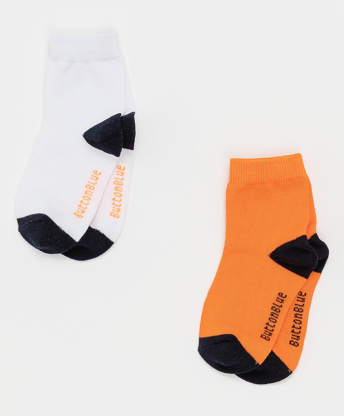 Купить 121BBBMU85026102, Оранжевые носки Button Blue, оранжевый, 16-18, Мужской, ВЕСНА/ЛЕТО 2021 (shop: GulliverMarket Gulliver Market)