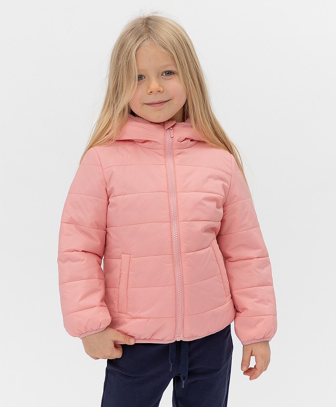 Купить 121BBGB41011200, Розовая куртка Button Blue, розовый, 140, Полиэстер, Женский, Весна, ВЕСНА/ЛЕТО 2021 (shop: GulliverMarket Gulliver Market)