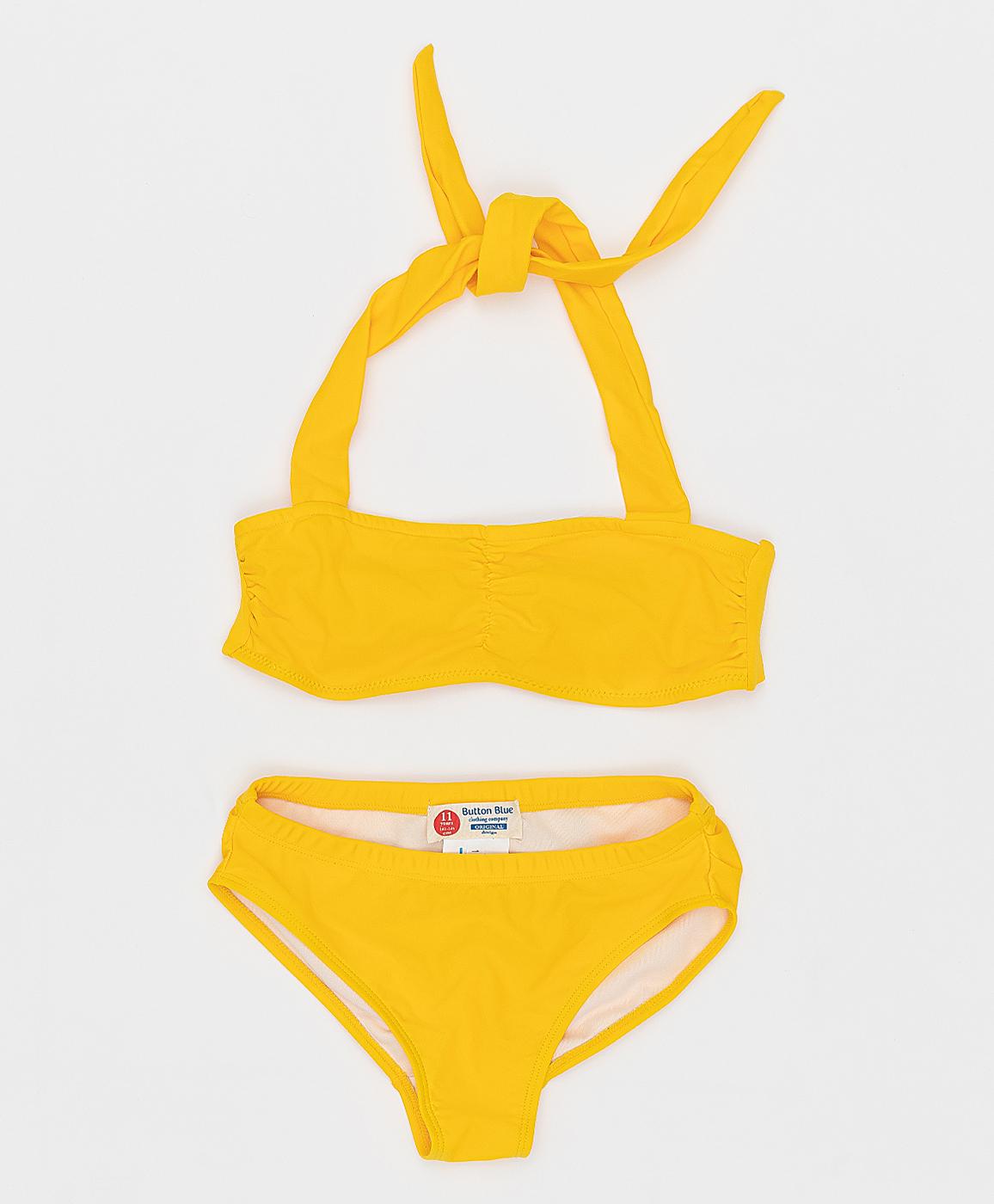 Купить 121BBGJU80012700, Желтый раздельный купальник Button Blue, желтый, 152-158, Женский, Лето, ВЕСНА/ЛЕТО 2021 (shop: GulliverMarket Gulliver Market)