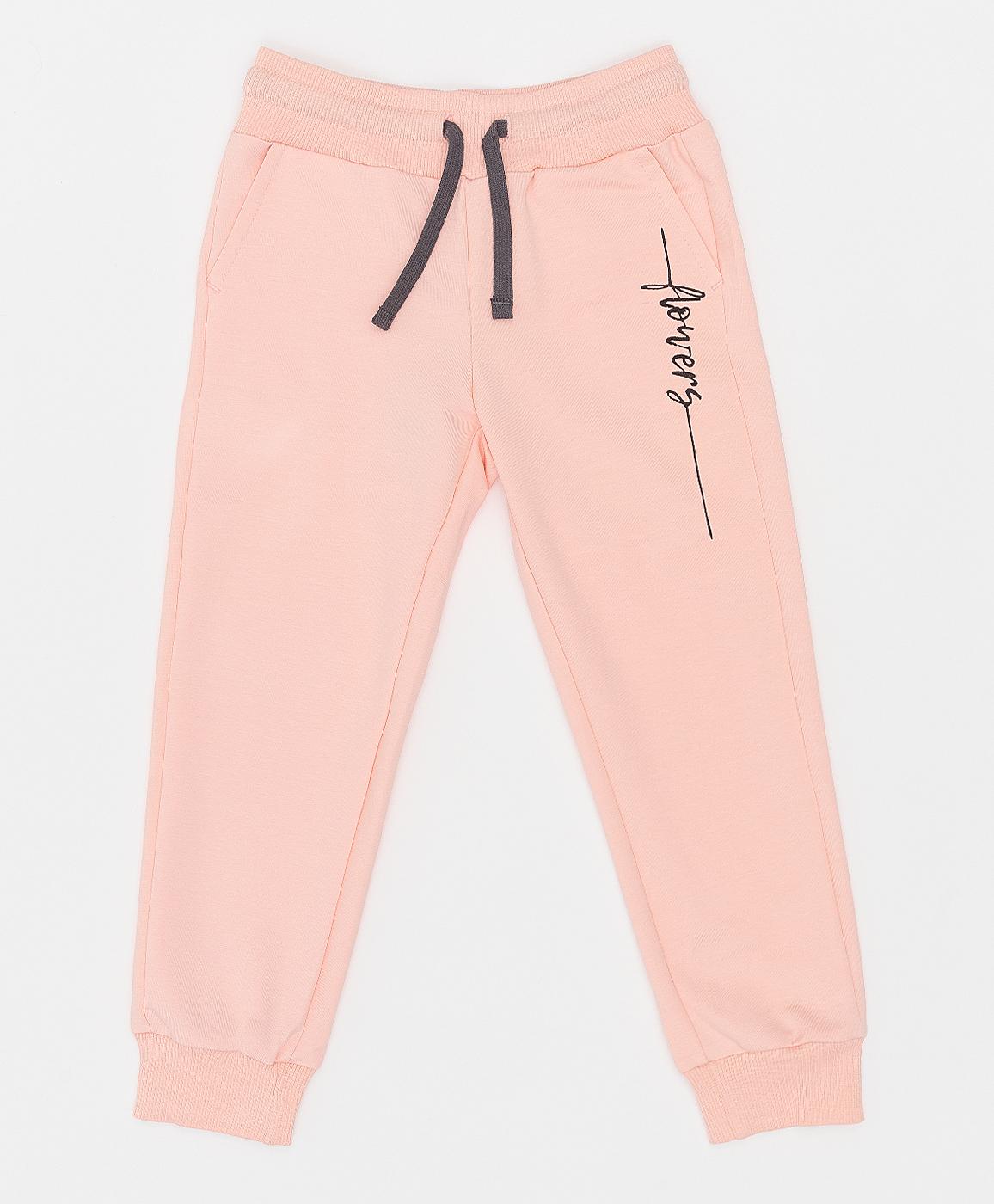 Купить 121BBGMC56016300, Розовые брюки Button Blue, розовый, 128, Футер, Женский, Весна, ВЕСНА/ЛЕТО 2021 (shop: GulliverMarket Gulliver Market)