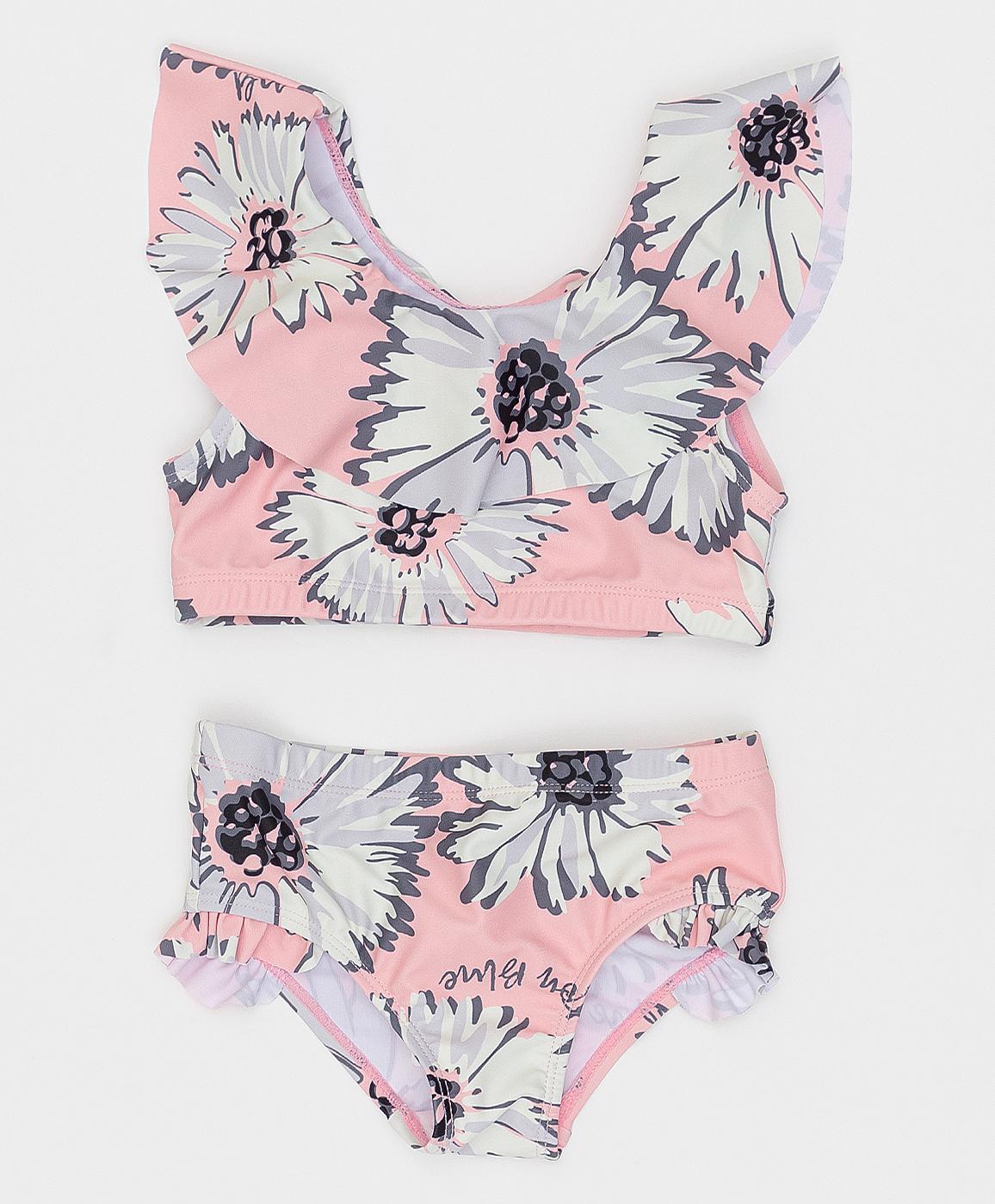 Купить 121BBGMU80014314, Розовый раздельный купальник Button Blue, розовый, 98-104, Женский, Лето, ВЕСНА/ЛЕТО 2021 (shop: GulliverMarket Gulliver Market)