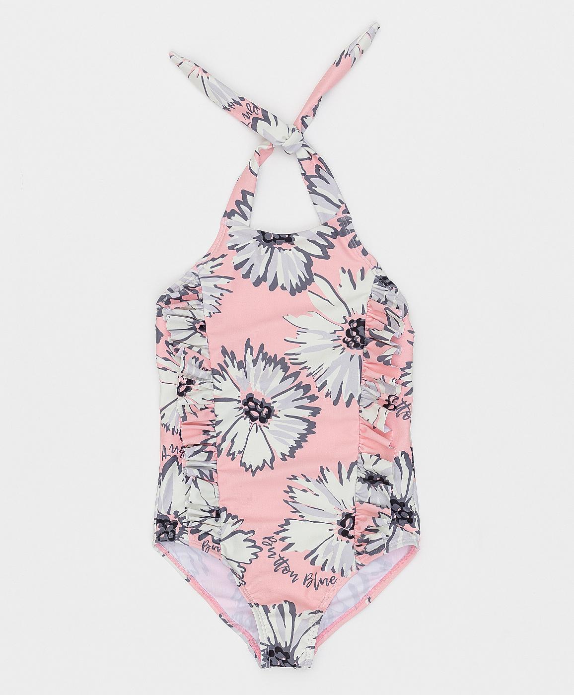 Купить 121BBGMU80064314, Розовый слитный купальник Button Blue, розовый, 104-110, Женский, Лето, ВЕСНА/ЛЕТО 2021 (shop: GulliverMarket Gulliver Market)