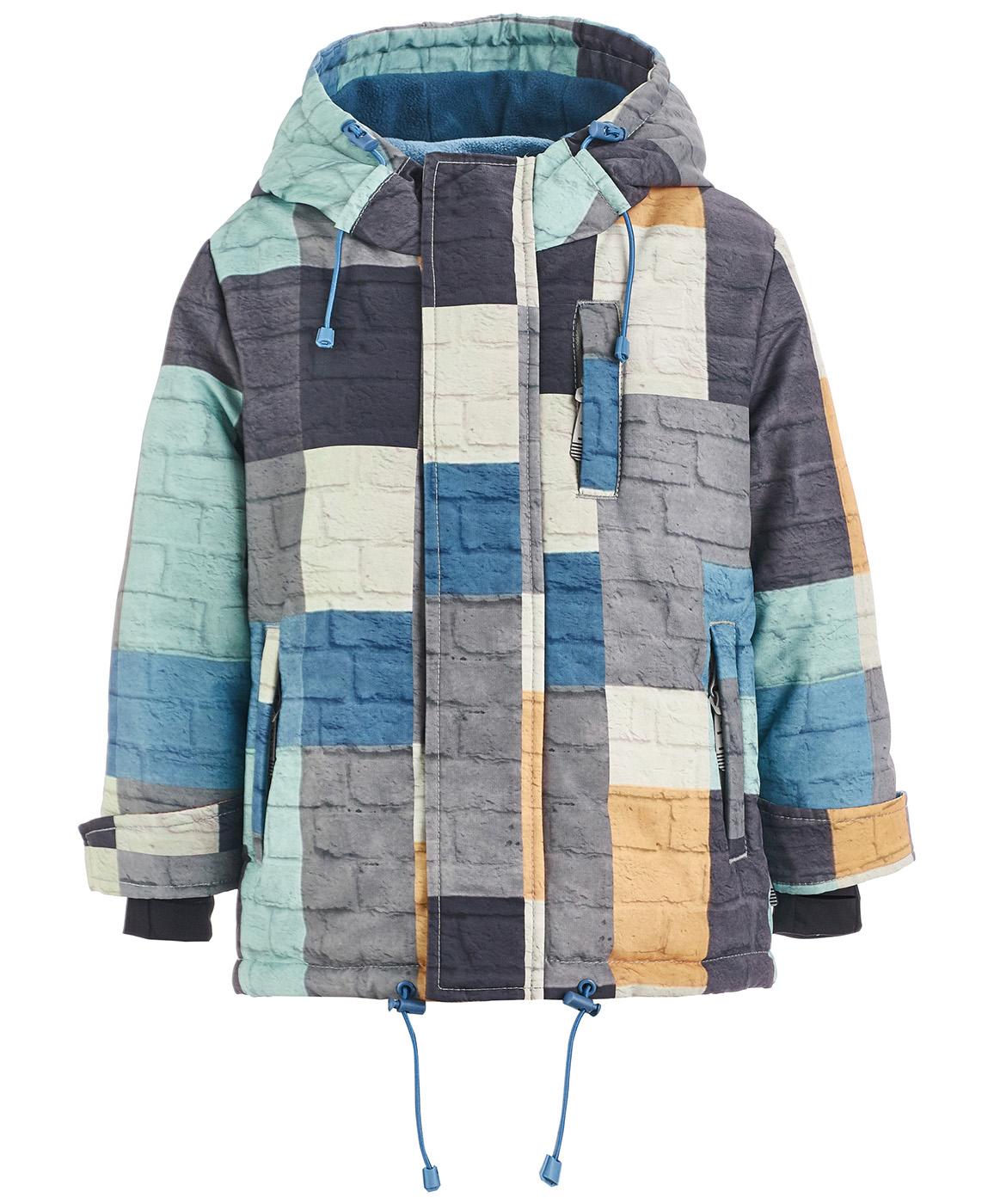 Купить 218BBBA41010122, Куртка Button Blue, BUTTON BLUE Active, серый, 128, Мужской, ОСЕНЬ/ЗИМА 2018-2019 (shop: GulliverMarket Gulliver Market)