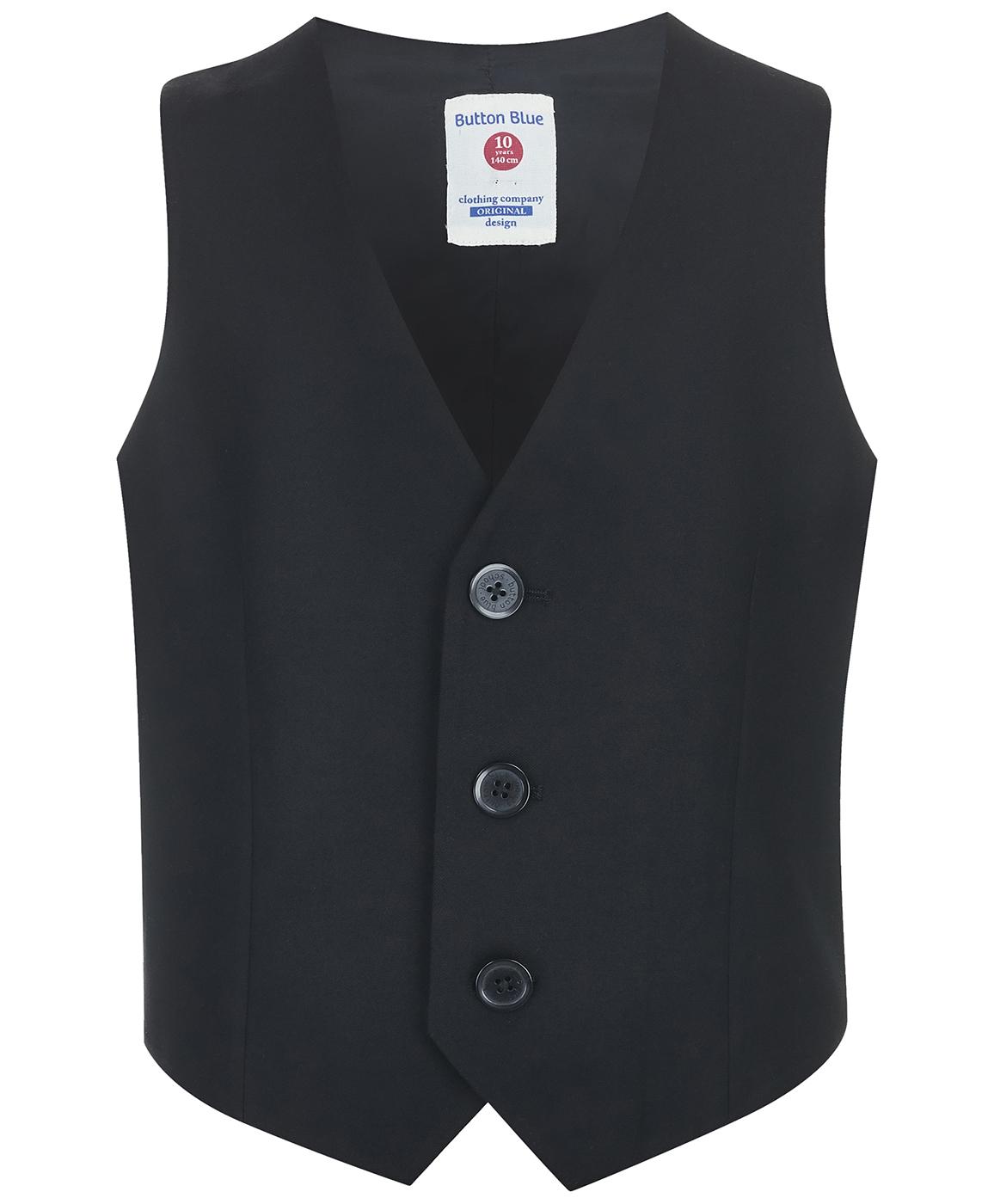 Купить 218BBBS47010800, Жилет Button Blue, черный, 170, Мужской, ОСЕНЬ/ЗИМА 2018-2019 (shop: GulliverMarket Gulliver Market)