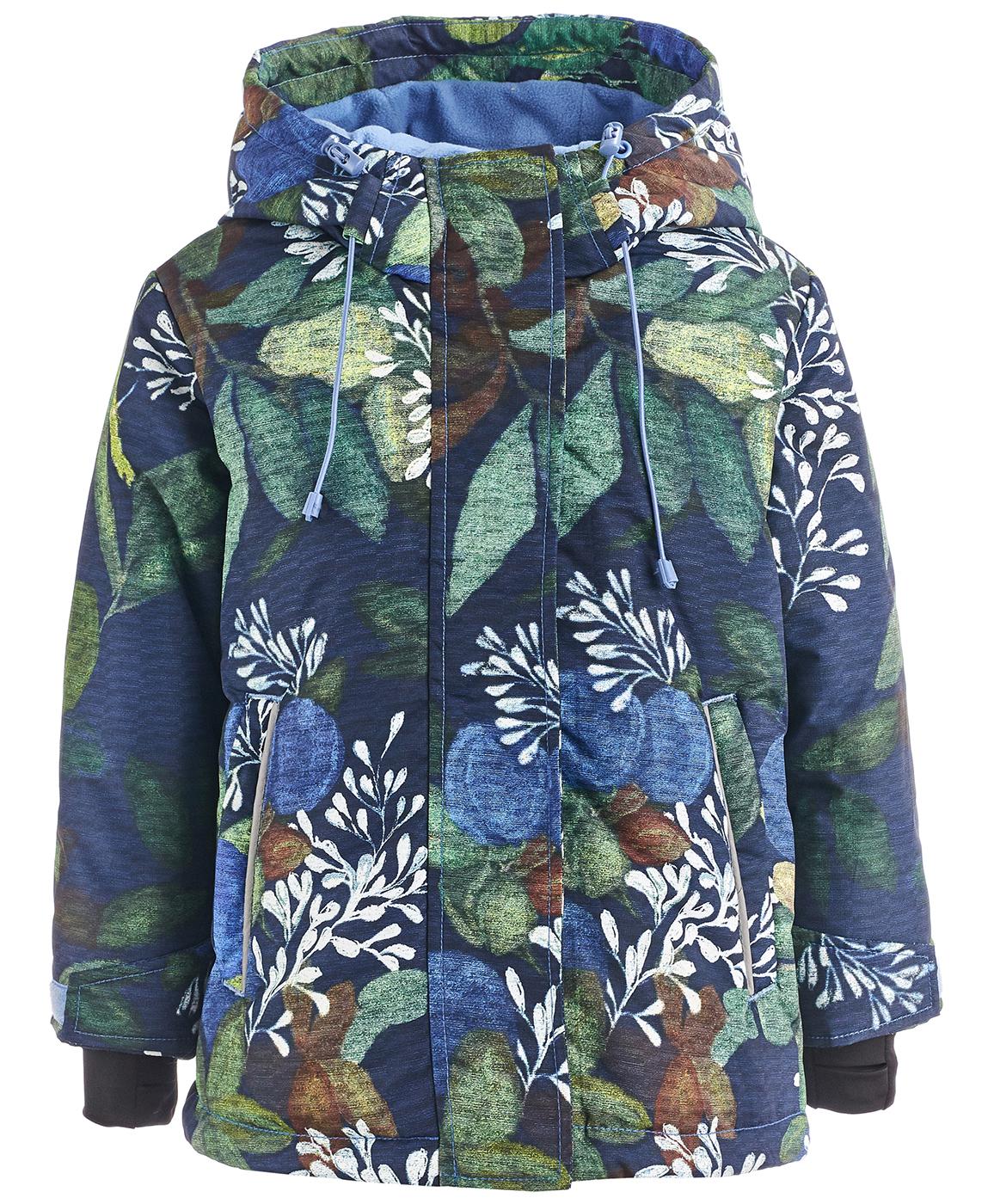 Купить 218BBGA41011014, Куртка Button Blue, BUTTON BLUE Active, синий, 128, Женский, ОСЕНЬ/ЗИМА 2018-2019 (shop: GulliverMarket Gulliver Market)