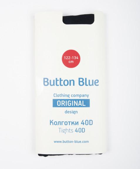Синие колготки Button Blue