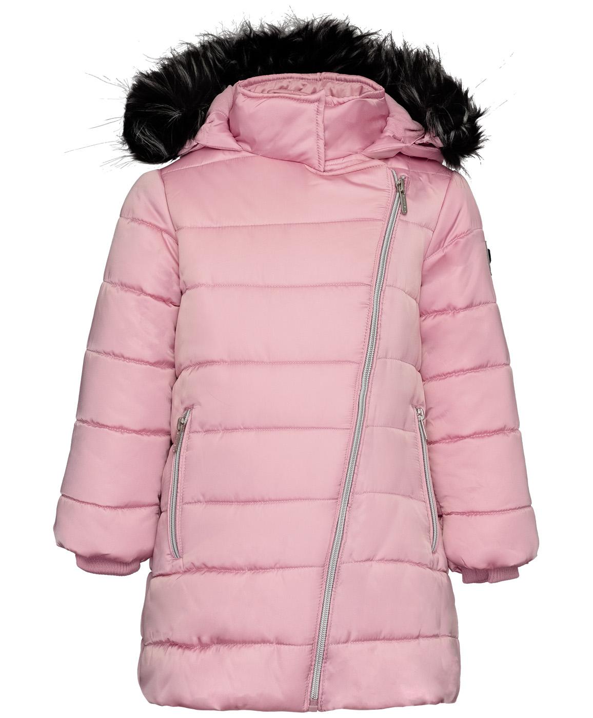 Купить 219BBGC45011200, Розовое зимнее пальто Button Blue, розовый, 110, Женский, ОСЕНЬ/ЗИМА 2019-2020 (shop: GulliverMarket Gulliver Market)