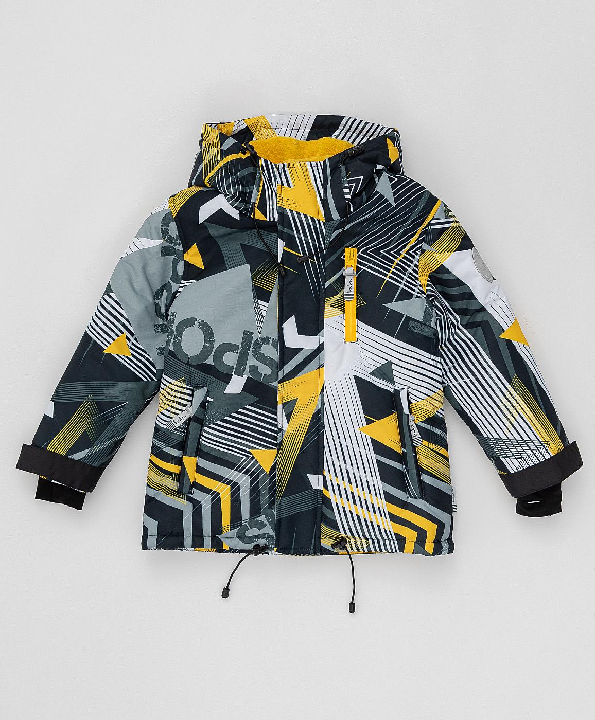 Купить 220BBBA41010813, Демисезонная куртка Active Button Blue, черный, 128, Мембрана, Мужской, ОСЕНЬ/ЗИМА 2020-2021 (shop: GulliverMarket Gulliver Market)
