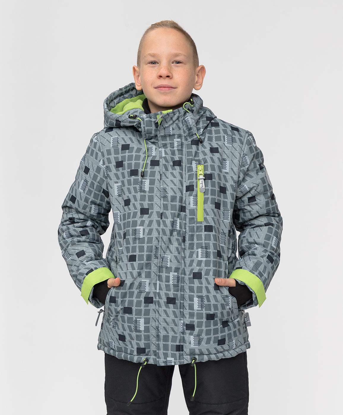 Купить 220BBBA41012013, Демисезонная куртка Active Button Blue, серый, 128, Мембрана, Мужской, ОСЕНЬ/ЗИМА 2020-2021 (shop: GulliverMarket Gulliver Market)
