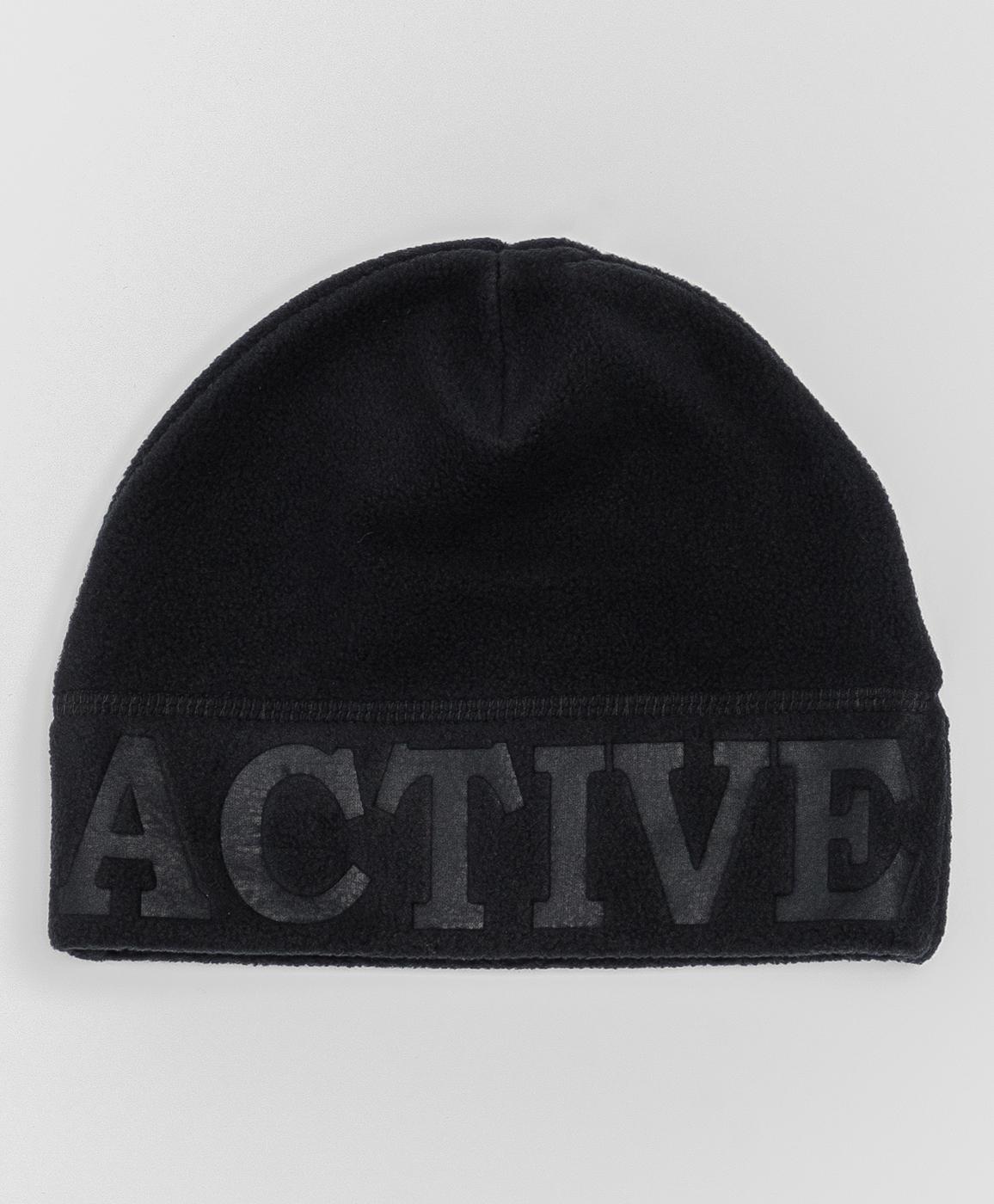 Купить 220BBBA73010800, Черная флисовая шапка Button Blue, черный, 50, Флис, Мужской, Зима, ОСЕНЬ/ЗИМА 2020-2021 (shop: GulliverMarket Gulliver Market)