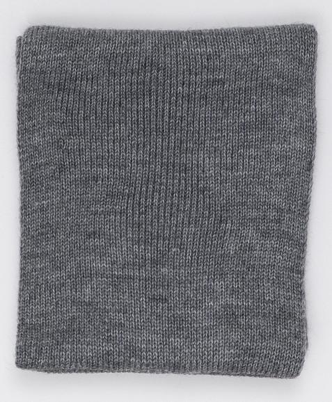 Серый вязаный воротник Button Blue