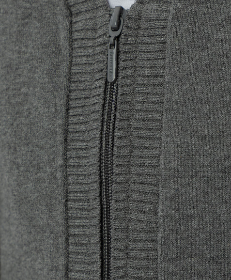 Серый тонкий кардиган Button Blue