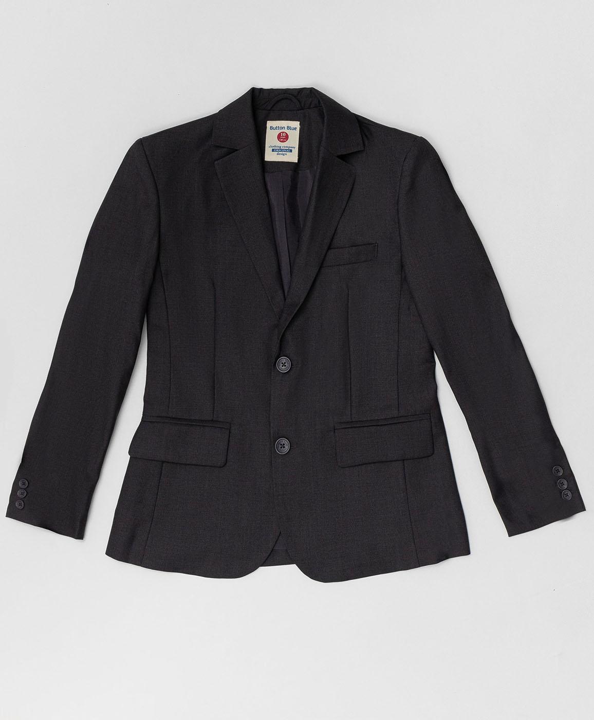 Купить 220BBBS48010100, Серый пиджак Button Blue, серый, 134, Текстиль, Мужской, Демисезон, ШКОЛЬНАЯ ФОРМА 2020-2021 (shop: GulliverMarket Gulliver Market)
