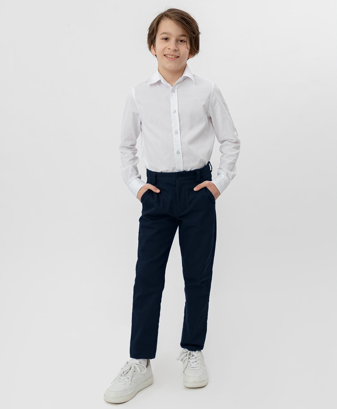 Купить 220BBBS63011000, Синие брюки-слим Button Blue, синий, 122, Текстиль, Мужской, Демисезон, ШКОЛЬНАЯ ФОРМА 2020-2021 (shop: GulliverMarket Gulliver Market)