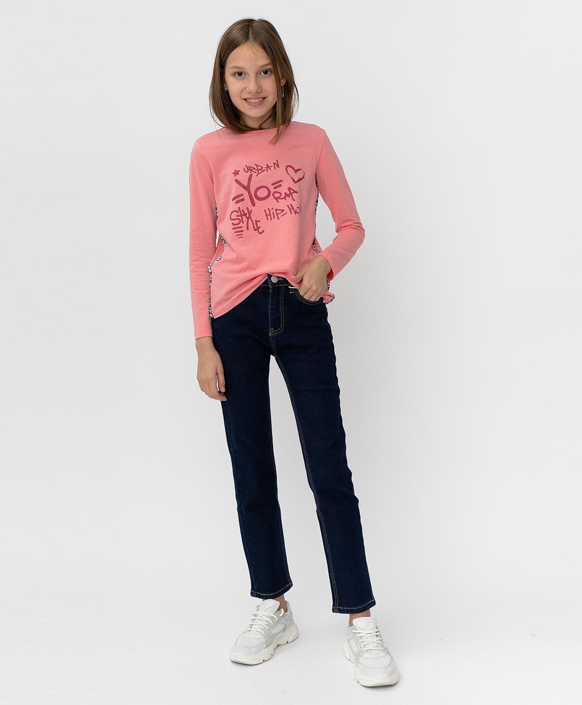 Купить 220BBGJC6401D500, Синие утепленные джинсы Button Blue, синий, 140, Деним (Джинса), Женский, Зима, ОСЕНЬ/ЗИМА 2020-2021 (shop: GulliverMarket Gulliver Market)
