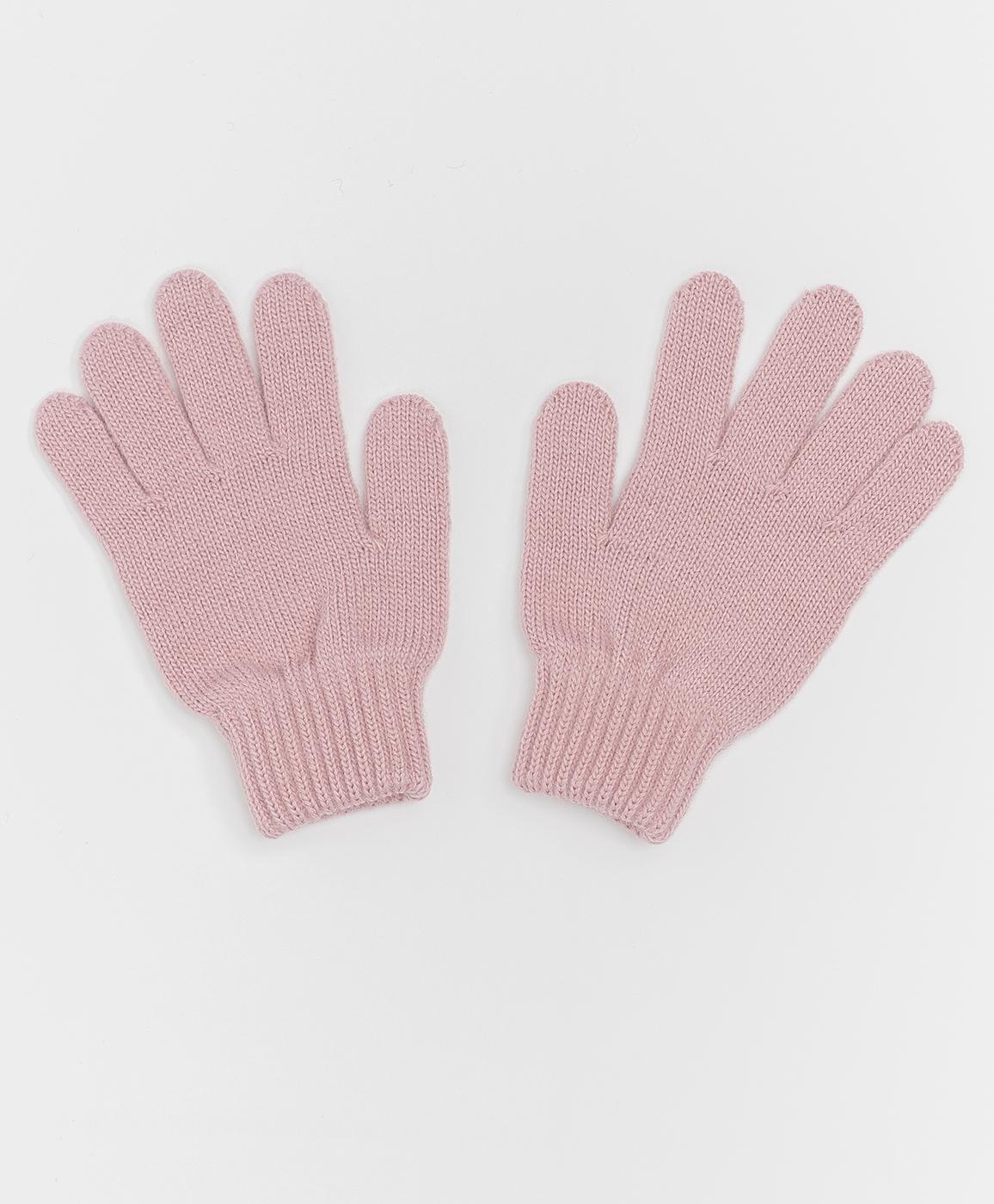 Купить 220BBGJX76011200, Розовые вязаные перчатки Button Blue, 18, Женский, Зима, ОСЕНЬ/ЗИМА 2020-2021 (shop: GulliverMarket Gulliver Market)