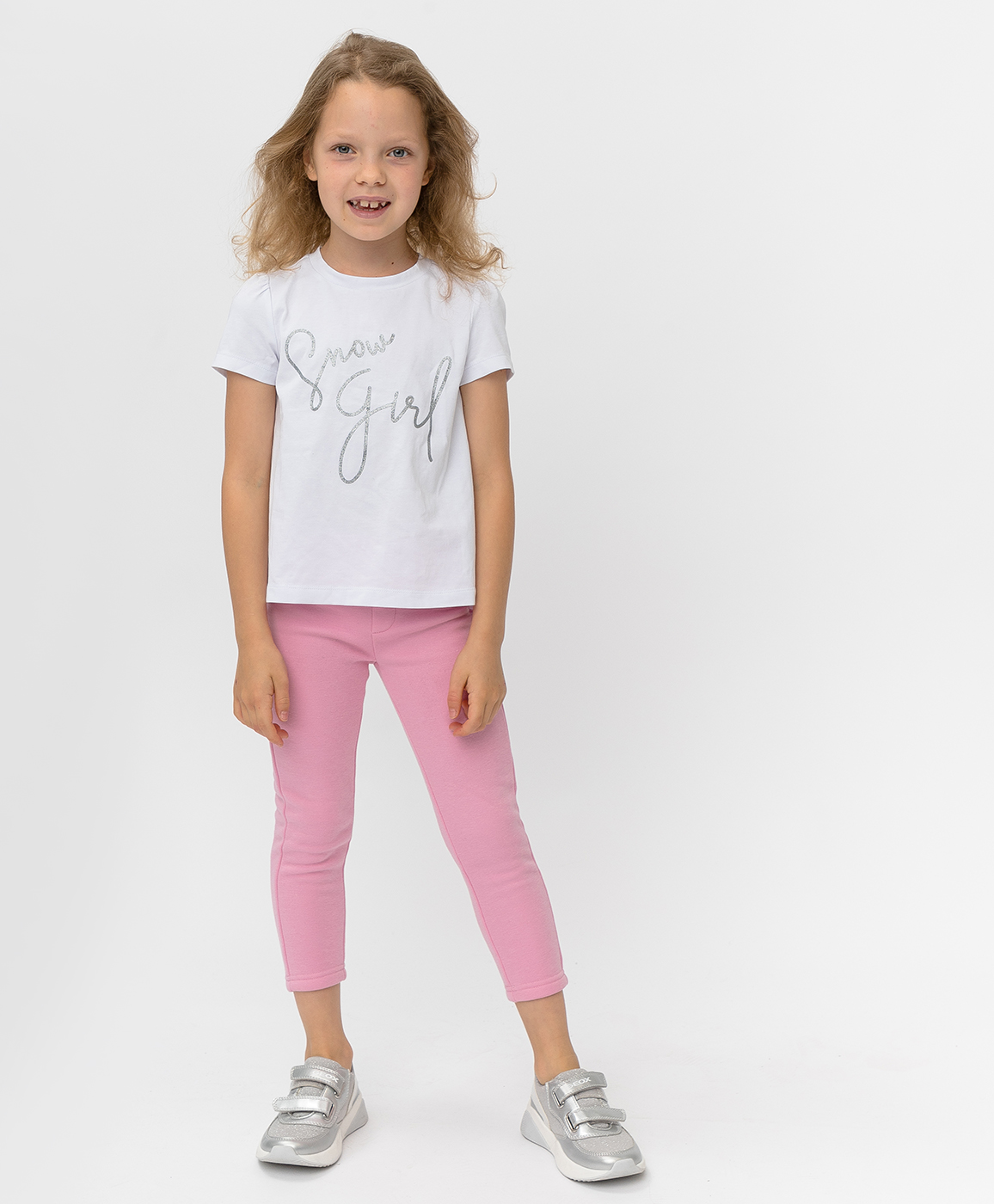 220BBGMC13021200, Розовые брюки Button Blue, розовый, 128, Бондированное трикотажное полотно, Женский, Зима, ОСЕНЬ/ЗИМА 2020-2021  - купить со скидкой