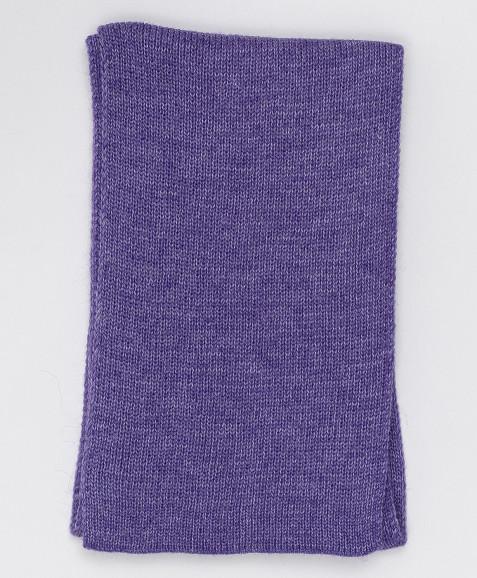 Сиреневый вязаный шарф Button Blue