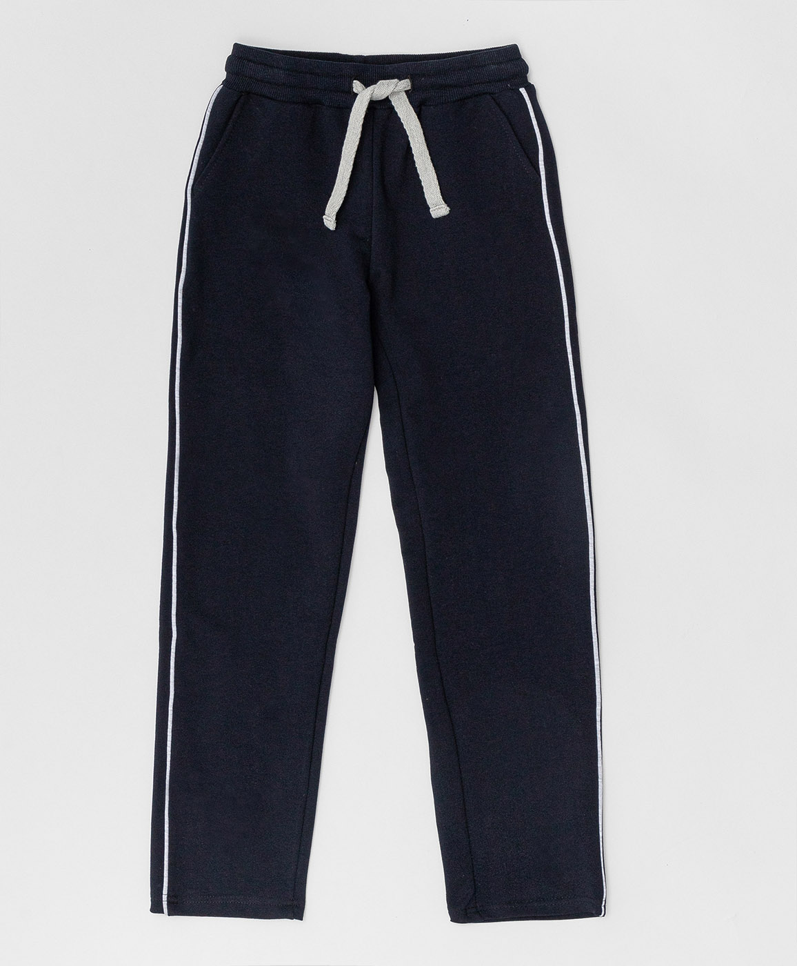 Купить 220BBGS56011000, Синие брюки из футера Button Blue, синий, 122, Футер, Женский, Демисезон, ШКОЛЬНАЯ ФОРМА 2020-2021 (shop: GulliverMarket Gulliver Market)