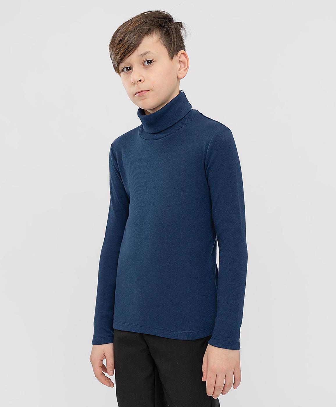 Купить 221BBBS18011000, Водолазка синяя Button Blue, 164, Хлопок, Мужской, ШКОЛЬНАЯ ФОРМА 2021-2022 (shop: GulliverMarket Gulliver Market)