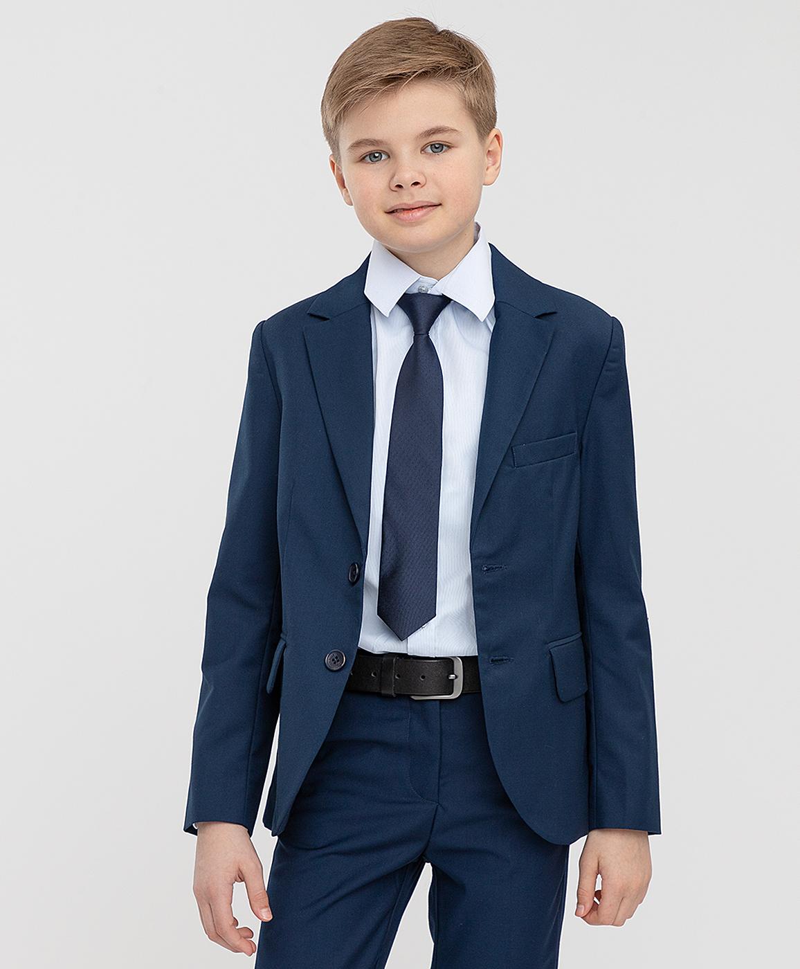 Купить 221BBBS48011000, Пиджак серый двубортный Button Blue, 134, Полиэстер, Мужской, ШКОЛЬНАЯ ФОРМА 2021-2022 (shop: GulliverMarket Gulliver Market)