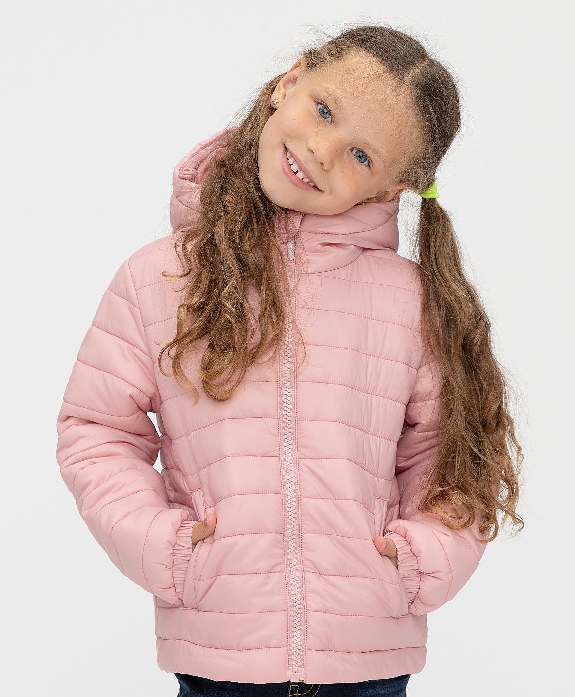 Купить 221BBGB41011200, Куртка демисезонная розовая Button Blue, розовый, 152, Нейлон, Женский, Демисезон, ОСЕНЬ/ЗИМА 2021-2022 (shop: GulliverMarket Gulliver Market)