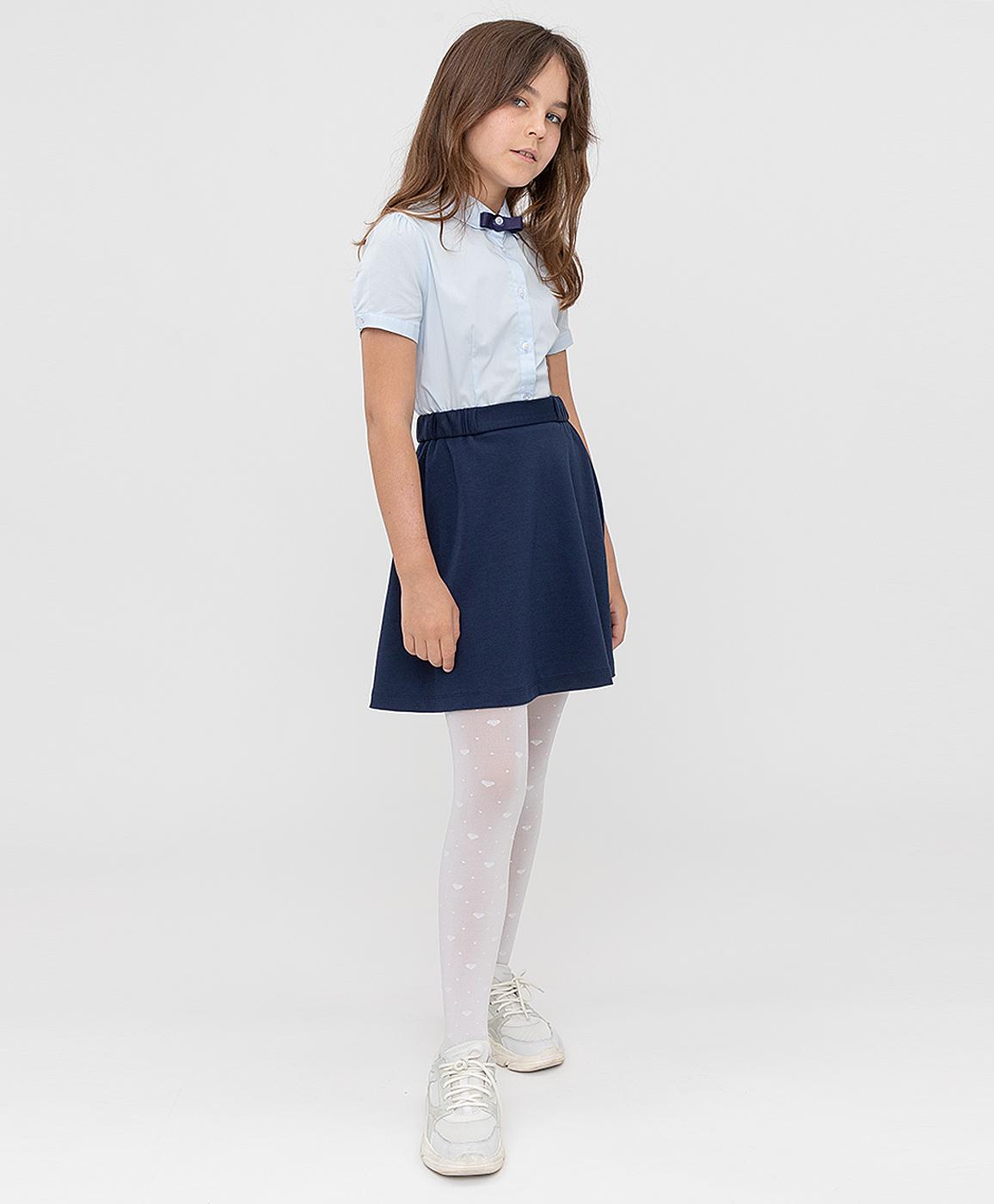 Купить 221BBGS55021000, Юбка синяя Button Blue, 152, Полиэстер, Женский, ШКОЛЬНАЯ ФОРМА 2021-2022 (shop: GulliverMarket Gulliver Market)